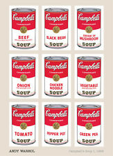 Campbell's Soup I, 1968 by Andy Warhol Art Print 24x36 Large Poster