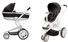 Quinny Moodd Travel System Black Irony With Stroller & Tukk Bassinet Free Ship!!