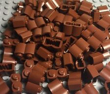 Lego New Bulk X100 Pieces Reddish Brown Legoredo Palisade Bricks Lot 1x2 Logs