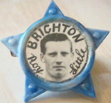 BRIGHTON & HOVE ALBION  Player ROY LITTLE 1958-61 Rare STAR Badge