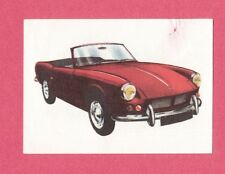Triumph Spitfire 1964 Car Jacques Chocolate Card from Belgium #207