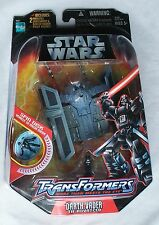STAR WARS TRANSFORMERS: DARTH VADER TIE ADVANCED