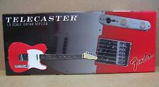 GMP Fender Telecaster Red Guitar Die-Cast 1:3 Scale + Display Stand Wall Mount
