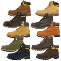 CAT CATERPILLAR COLORADO BOOTS MEN HERREN SCHUHE 6 INCH LEDER STIEFEL STICKSHIFT