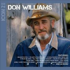 Don Williams / Icon 2  (LIKE NW / VG / CD 2 Discs)  Tulsa Time, I Believe in You