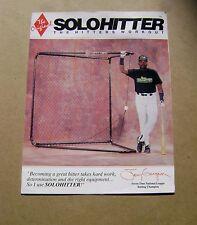 Tony Gwynn Solo Hitter Brochure
