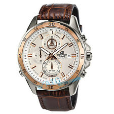 Brand New Casio Edifice EFR-547L-7A Super illuminator Watch