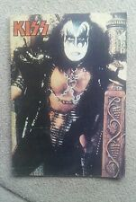 KISS MEGA RARE Argentinia Only Magazin ! Stanley / Simmons