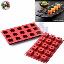 CAKE DESIGN SILIKOMART STAMPO IN SILICONE SF175 SUSHI MAKI FINGER FOOD PARTY