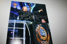 ROWDY RODDY PIPER SIGNED WWE/WWF 8X10 PHOTO HALL OF FAME POSE 2