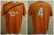 Newcastle United #4 Cabeye 2011/2012 away Size XL Puma shirt jersey maglia