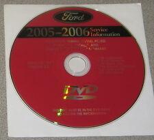 2005 2006 Ford Ranger Truck Service Manual Set DVD
