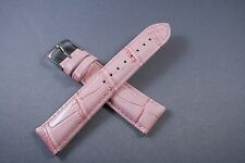 20mm Light pink Genuine Leather Watch Band,Strap,Interchangeable,Quick Release