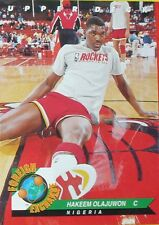 CARTE  NBA BASKET BALL 1993  FOREIGN EXCHANGE HAKEEM OLAJUWON (80)