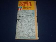 1963 APRIL 28 UNION PACIFIC RAILROAD TIME TABLES GUIDE - GREAT INFO - II 9605