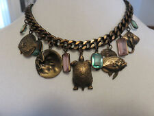 KIRKS FOLLY ANTIQUE BRONZE FROM THE SEA NECKLACE NWOT