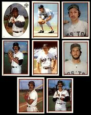 (48) BOSTON RED SOX 1983 TOPPS STICKERS - NM/MT - ECKERSLEY, RICE, EVANS, PEREZ