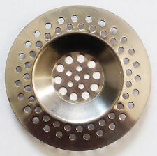 2 un. cocina fregadero de acero inoxidable Filtro Colador Tapón de Drenaje Enchufe cesta UK