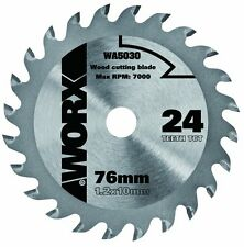 WOOD CUTTING DISC BLADE FOR WORX HANDYCUT MINI CIRCULAR SAW WA5030 24 TEETH TCT