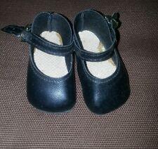 Puppenschuh schwarz für Mädchen 5,50x2,80 cm