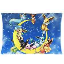 Brand New Rectangle Cartoon Pokemon Pillow Case Cover 20 x 30 Inch One Side