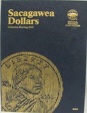 WHITMAN FOLDER - SACAGAWEA DOLLARS 2000 - 2010 (#8060)