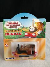NEW Thomas The Tank Engine RARE limited edition DUNCAN ENGINE ertl 1998