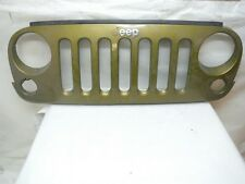 2007 2008 2009 2010 2011 2012 2017 JEEP WRANGLER FRONT GRILLE TRIM OEM GRILL GRN
