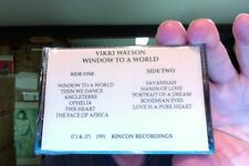 Vikki Watson- Window To the World- new/sealed promo cassette