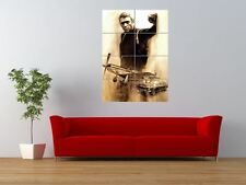 STEVE MCQUEEN LEGEND HOLLYWOOD STAR ACTOR GIANT ART PRINT PANEL POSTER NOR0181
