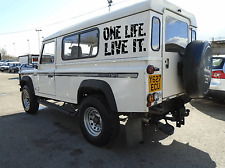 One Life Live It ,Land Rover 4x4 ,Car Sticker Decal 440mm x 220mm