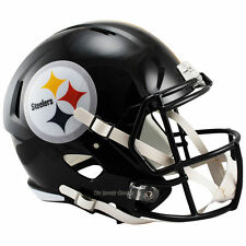 PITTSBURGH STEELERS RIDDELL SPEED NFL FULL SIZE REPLICA FOOTBALL HELMET