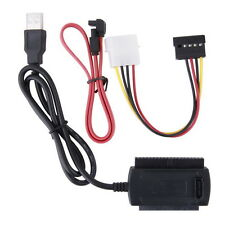 SATA/PATA/IDE Drive to USB 2.0 Adapter Converter Cable for 2.5/3.5 Hard Drive LS