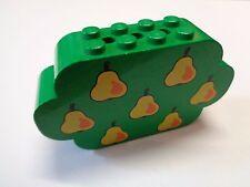 LEGO Brique Sérigraphié Arbre Poirier Tree Fabuland Brick