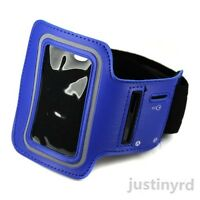 Dark Blue Gym Sports Equip Running ArmBand Case Cover For Apple iPod Nano 7 7G