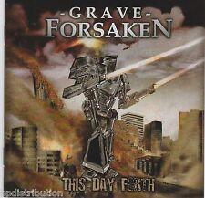 GRAVE FORSAKEN - THIS DAY FORTH (2009, CD, Soundmass) Christian Thrash Metal