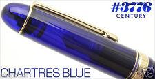 PLATINUM #3776 Century CHARTRES BLUE 14K Gold F Nib Fountain Pen[PNB-10000#51]
