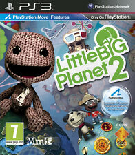 LITTLE BIG PLANET 2 PS3 KIDS GAME REGION FREE EXCELLENT CONDITION