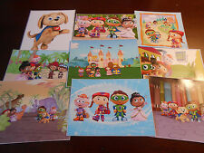 9 Super Why inspired Stickers, Birthday party Favors, labels, rewards, decals