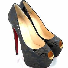 K-CL21258 New Christian Louboutin Highness Daffodile 160 Arab Pumps Size 39 9