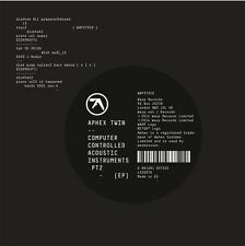 Aphex Twin - Computer Controlled Acoustic Instruments PT 2 [New CD] Extended Pla