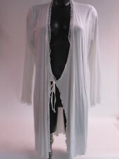 Vanilla Night and Day Cream Nightwear Slip Gown Wrap Robe - Large #26E244