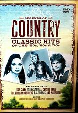 Legends of Country Music Classic hits DVD, PBS special, Glen Campbell, Roy Clark