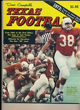 Dave Campbell's Texas Football 1973 Jack Pardee Glen Gaspard Texas Wrecking Crew