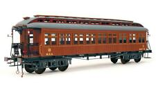 "Elegant, finely detailed model train kit by OcCre: the ""Costa MZA Coach"""