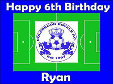 Choose Your Own Football club Personalised Cake Topper