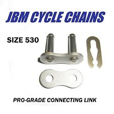 530 CHAIN CONNECTING MASTER LINK HARLEY TRIUMPH HONDA ATV