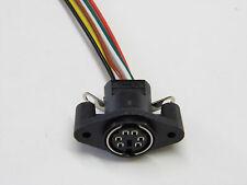 Lot de 3 - connecteur 6pts PS/2 Femelle (avec fils de 15cm de long)