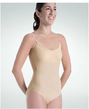 Body Wrappers 110 Girls' Size 6X-7 (INT) Nude UnderWraps Camisole Leotard
