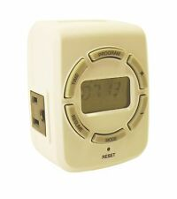 New 7Day Digital LCD Programmable Indoor Timer 110V 115V 120V 15A Vacation 288*
